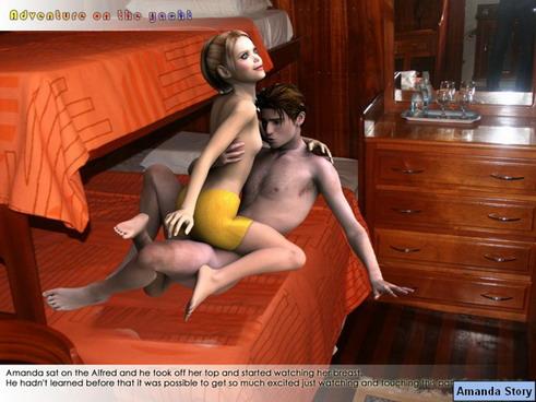 Original sexcomic about funny love